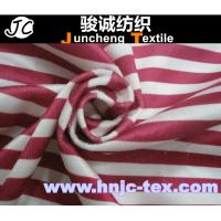 Wholesale 100% polyester plaid cotton imitation velvet fabric/Grid printed imitate cotton velveteen from china suppliers