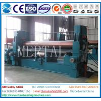 Wholesale MCLW11STNC vehicle for wide three-roll  plate bending machine,plate rolling machine from china suppliers