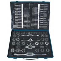Wholesale High Precision Alloy Steel Tap and Die Sets 110 PCS Cutting Tool with Metric & Inch size from china suppliers