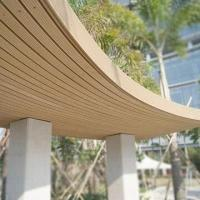 Wholesale WPC decking/wooden and plastic outdoor trellises, various designs are available from china suppliers
