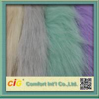 Wholesale 83% Acrylic 17% Polyester High Pile Faux Fur Fabric For Garment And Funiture from china suppliers