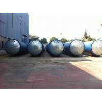Wholesale Glass industry Wood Preservative Treatment , saturated steam Autoclave from china suppliers