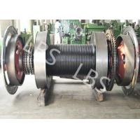 Wholesale Offshore Windlass Winches / Drawworks Drum For Petroleum Drilling Rig from china suppliers