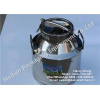 Wholesale SS Milk Bucket Series , Double Stainless Steel Milk Can Heat Insulation Barrels from china suppliers