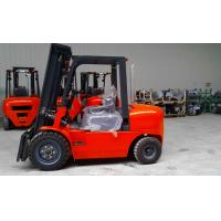 Wholesale powerful 3m lifting height 4T Diesel forklift with nice price and good performance use in outdoor of  warehouse from china suppliers