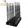 Buy cheap 16 Bands Desktop Jammer Blocker Shield 3G 4G Wimax UHF VHF Lojack Wi-Fi GPS L1 L2 L3 L4 L5 from wholesalers