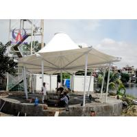 Quality Tornado Resistence Outside Commercial Shade Canopy , Above Ground Swimming Pool Canopy For Waterpark for sale