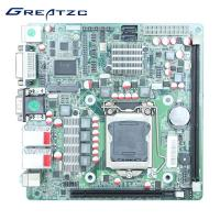 Wholesale ATX Power Intel H61 LGA1155 Motherboard , Mini ITX Motherboard H61 I3 I5 I7 from china suppliers