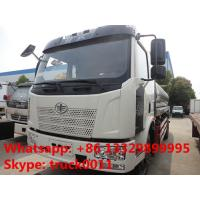 Wholesale FAW J6 13,000L stainless steel foodgrade milk tank truck for sale, China famous FAW brand liquid food truck for sale from china suppliers
