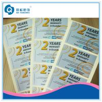 Wholesale PET self-adhesive sticker For Milk / Beer / Wine / Food Packaging from china suppliers