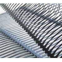 Buy cheap High Intensity PP Plastic Uniaxial Geogrid 25KN/M for Retaining Wall from wholesalers