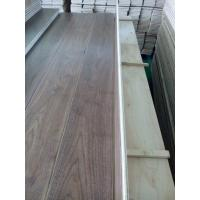 Quality Wide Plank Black Walnut Engineered Flooring, AB grade, 190MM width, matt gloss for sale