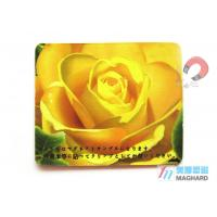 Wholesale Custom Made Flat Personalized Fridge Magnets For Fridge Magnets Yellow Flower Print from china suppliers