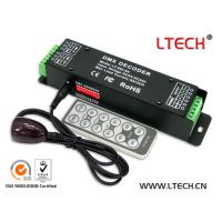 Buy cheap DMX decoder with remote from wholesalers