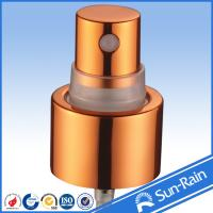 Wholesale Sunrain cosmetic aluminium plastic mist sprayer perfumer atomizer from china suppliers