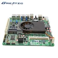 Wholesale Dual Core Quad LAN Motherboard , Fan Version Intel Atom D525 Motherboard from china suppliers