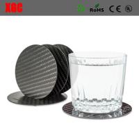 Wholesale Top Quality Common Fibers Carbon Fiber Coaster Set from china suppliers