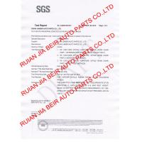 Ruian Jiabeir Auto Parts Co.,Ltd Certifications