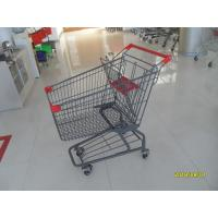 Wholesale Custom Logo Grocery Shopping Trolley For Metallic Distribute Store 125L from china suppliers