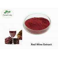 Wholesale Natural Antioxidant Red Wine Anthocyanin Extract Powder 30% Polyphenols Health care Use from china suppliers