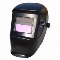 Buy cheap Auto-darkening Welding Helmet with 98 x 40mm Viewing Area from wholesalers