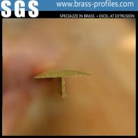 Wholesale Wholesale Brass T Profiles Copper Small T Edge Manufacturer For Decoration from china suppliers