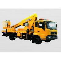 Wholesale 21.5m Boom Lift Truck XZJ5100JGK used for reaching up and over machinery from china suppliers