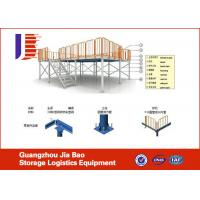 Wholesale Industrial Construction Mezzanine Storage Systems Floor Multi - Tier Platform from china suppliers