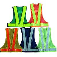 Wholesale Durable Reflective Safety Coat / Sanitation Traffic Safety Warning Clothing Vest from china suppliers