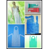 Buy cheap disposable  PE aprons made in China from wholesalers