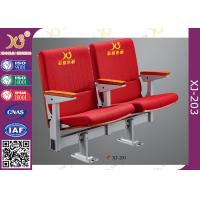 Wholesale SGS Approval Stackable Lecture Hall Seating Aluminum Alloy Leg Auditorium Chair from china suppliers