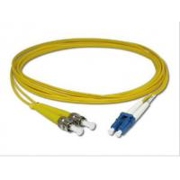Wholesale Duplex ST to LC Fiber Optic Patch Cord 9 / 125 μm Singlemode for Telecommunication from china suppliers