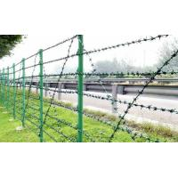 Wholesale Single Strand Weave Galvanized Barbed Steel Wire Fencing For Cattle Fence from china suppliers