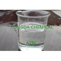 Wholesale ATBC Clear Liquid Good Oil Resistance Natural Plasticizers Mildew Resistance C20H34O8 from china suppliers
