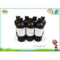 Quality China manufactured UV Ink for Epson Led UV printer,Epson Hg UV printer,  UV Inkjet Ink for all material, Fast curing Ink for sale