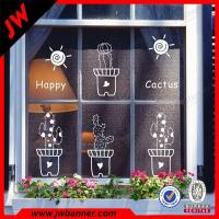 Buy cheap UV resistant window decoration Window Stickers Vinyl showcase Decals from wholesalers