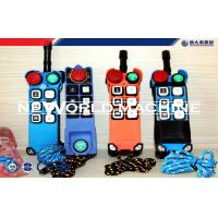 Wholesale 6 Buttons Industrial Crane Radio Remote Control Single Speed from china suppliers