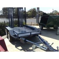 Wholesale Low Loader Tandem Axle Plant Equipment Trailer 8 X 5 For Agriculture / Industrial from china suppliers