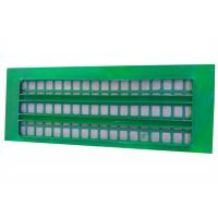 Wholesale SS 316 Brandt VSM 300 Secondary Shale Shaker Screens API Standard Black / Green Color from china suppliers
