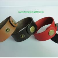 Buy cheap Leather bracelets,leather wristbands,personalized wristbands 01  from wholesalers