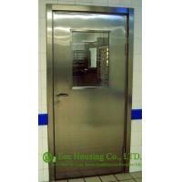 Wholesale Single-leaf Stainless Steel Fire Resistant Security Glass Door In Satin Finish from china suppliers