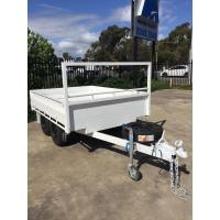 Wholesale Customized Tray Top Trailer  8x5 Tandem Trailer With Or Without Sides from china suppliers
