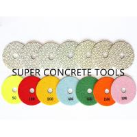 Buy cheap Wet Granite Marble Stone Hand Held Resin Bond Diamond Polishing Pads from wholesalers