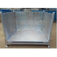 Wholesale anti-corrosion hot ggalvanized folding storage cage can be stacked from china suppliers