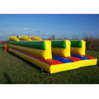 Wholesale Challenging Bungee Run Playground Inflatable Sports Games With 2 Lane CE from china suppliers