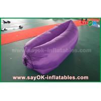 Wholesale Durable Inflatable Sleeping Air Bags Filling Lazy Bag Lounger For Camping from china suppliers