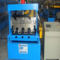 22kw Steel Deck Roll Forming Machine with Galvanized Board / 30 Groups Rollers