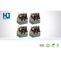 Wholesale Six Bottle Cardboard Beer Cardboard Bbeverage Pop Up Display Stand  With Corrugated Paper from china suppliers
