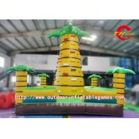 Wholesale Commercial Inflatable Climbing Wall , Backyard Rock Climbing Wall For Kids from china suppliers