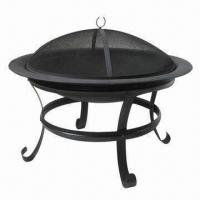 Wholesale Round Fire Pit, Finish with High-temperature Painting from china suppliers